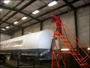 Sand Blasting And Paint Shop Nor Tech Fabrication
